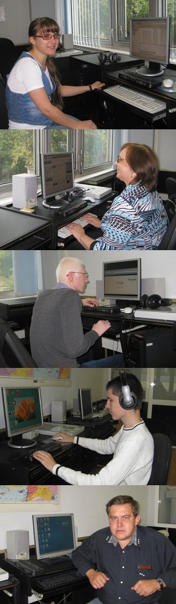 6.9.2012 - завершилось обучение по программе &laquoИнформационные технологии&raquo (подготовка преподавателей для обучения инвалидов по зрению основному курсу)