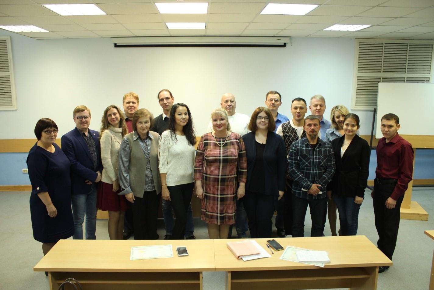 Завершилось обучение по программе «Проектный менеджмент» для инвалидов по зрению